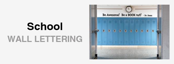 Image: School Wall Lettering!