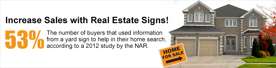 Image: Real Estate Signs at SpeedySigns.com!