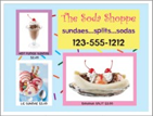 Image: Soda shop template